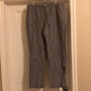 New York and Company linen pants